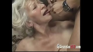 GILF And Granny Orgy With..