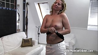Horny Mature Stepmom Fucks..