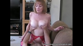 Grandma Rides The Hard Cock..