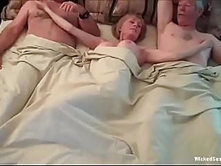 Threesome For My Horny Granny