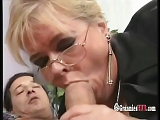 Chubby German Granny Blonde..