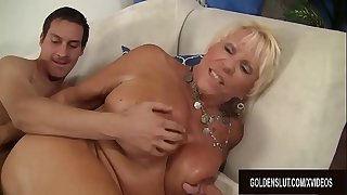 Big tits mature Mandy McGraw..