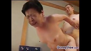 Japanese Grandma Giving A..