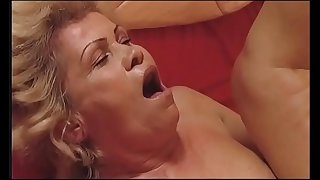 Sexy granny fucked by her..